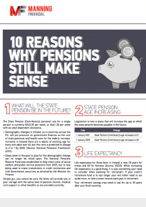 10 reasons why pensions make sense